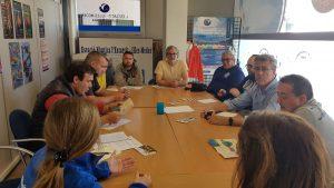 Pere Miquel Carreras, propietari de Les Corones, va assistir a la reunió sobre com abordar el retorn turístic del Projecte Sèpia.