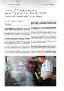 Restaurant Les Corones, ambaixador de Getaria a la Costa Brava, peix a la brasa a l'Estartit
